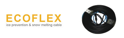ecoflex ice prevention and snow melting cables