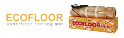 ecofloor underfloor heating mat