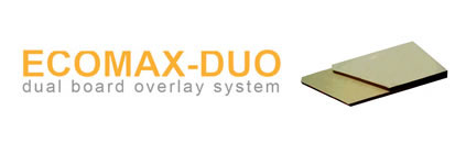 ecomax duo board overlay system