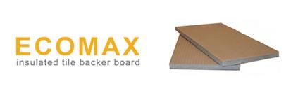 ecomax insulated tile backer board