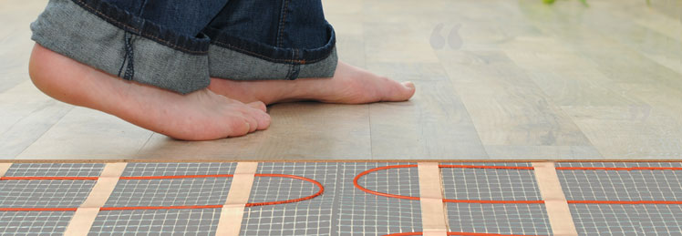 Underfloor Heating Installation Edinburgh Glasgow Scotland