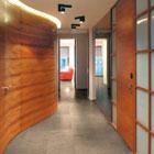 Estilo helsinki cork lacquered tile