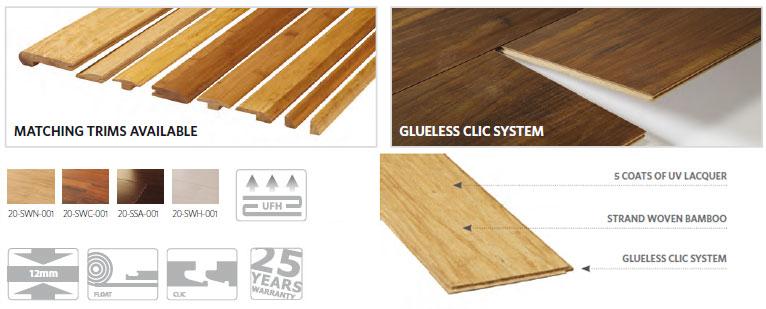 Style bamboo flooring