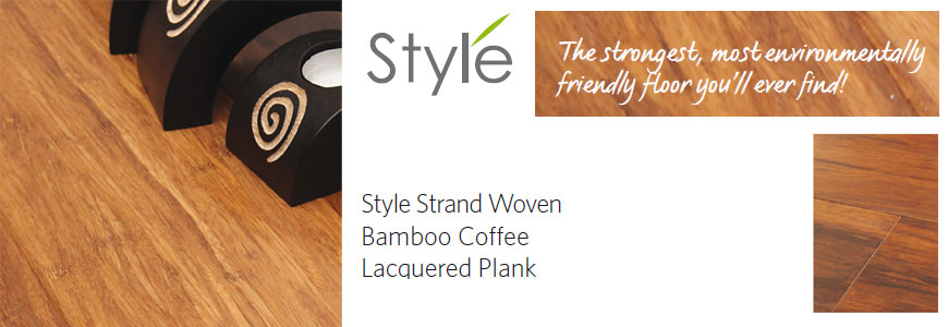 style bamboo flooring: strand woven lacquered plank flooring