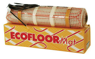 underfloor heating cable mat