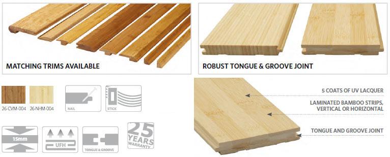 warwick bamboo flooring