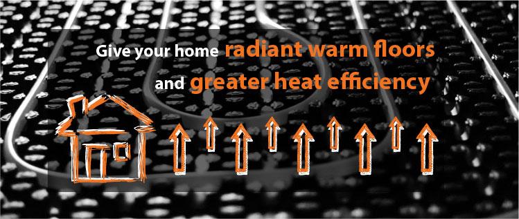 water underfloor heating benefits